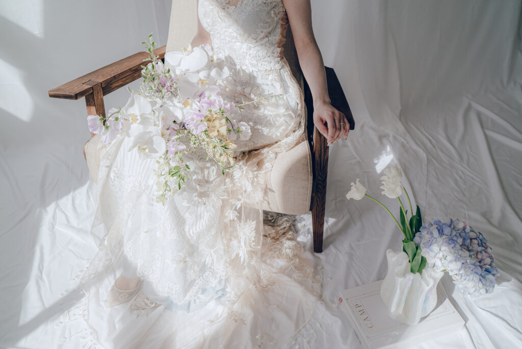リアルプレ花嫁のお悩み相談ドレス試着!骨格に合うドレスをプロがご提案